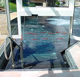 Puertas sin corrosión y estancas al agua (IP65)
