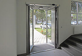 Swing Door Visible